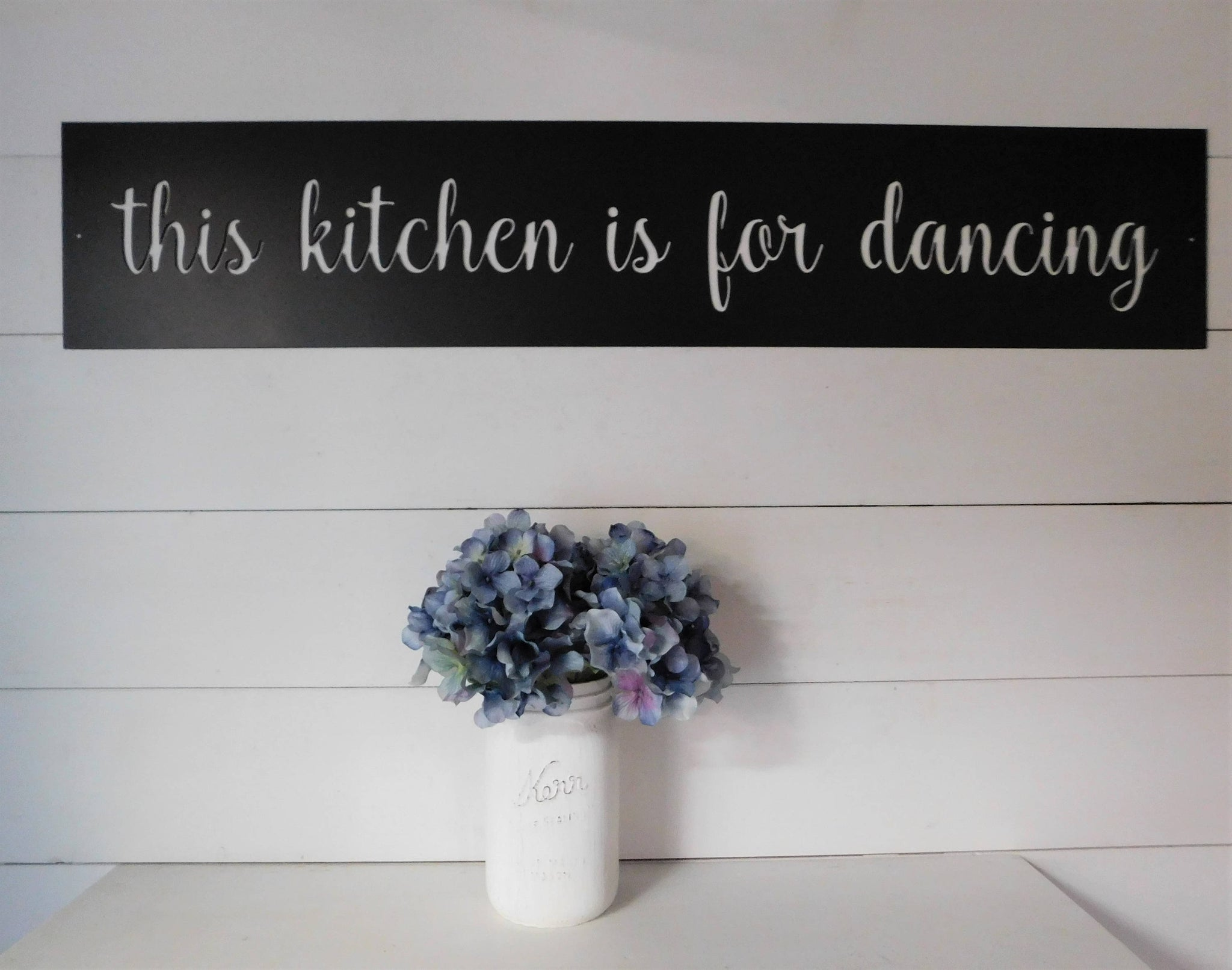 This Kitchen Is For Dancing Metal Sign