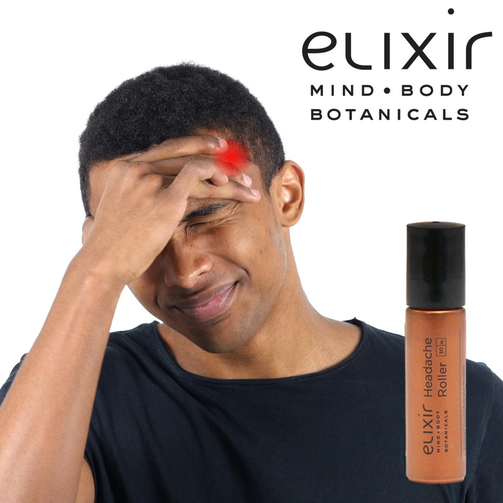 Elixir Mind Body Botanicals Headache Relief Roller