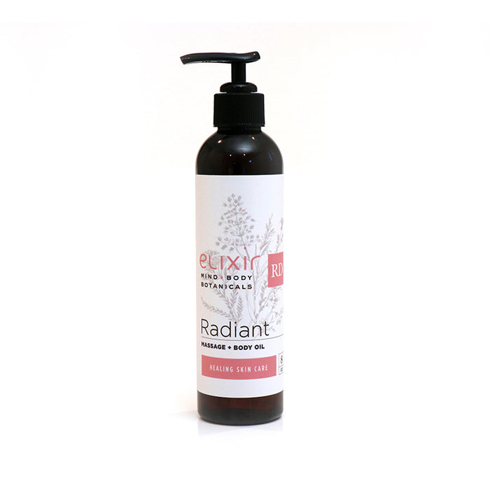 Elixir Mind Body Botanicals Radiant Massage & Body Oil