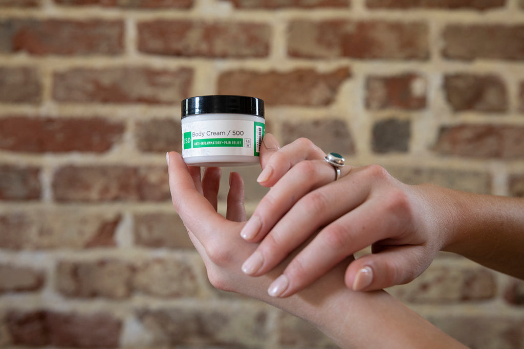 Elixir Mind Body Botanicals CBD Body Cream
