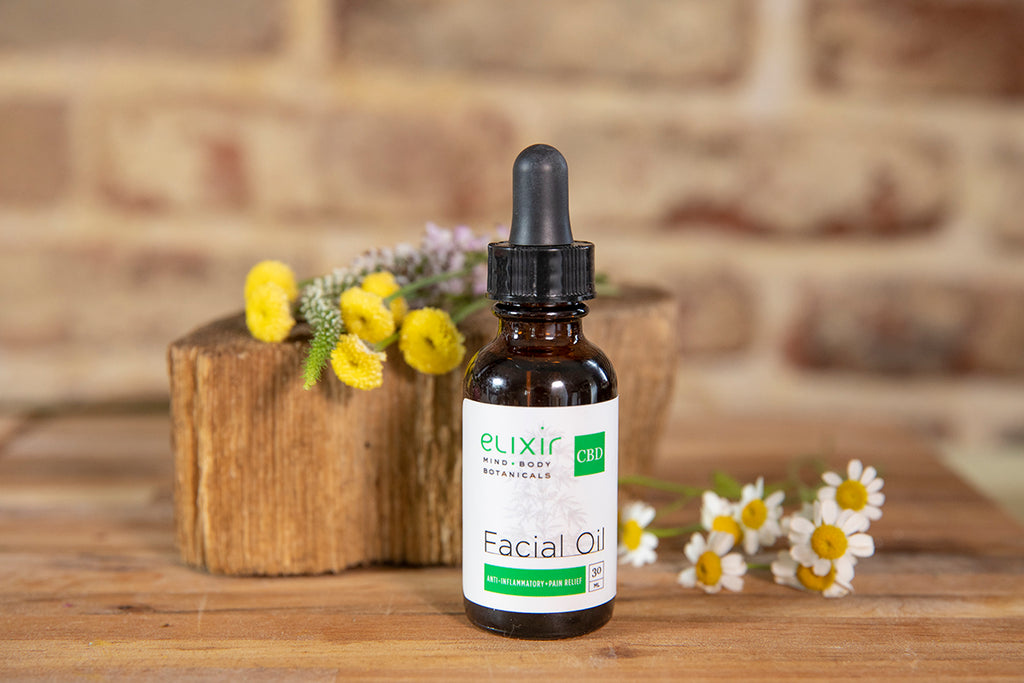 Elixir Mind Body Botanicals CBD Facial Oil