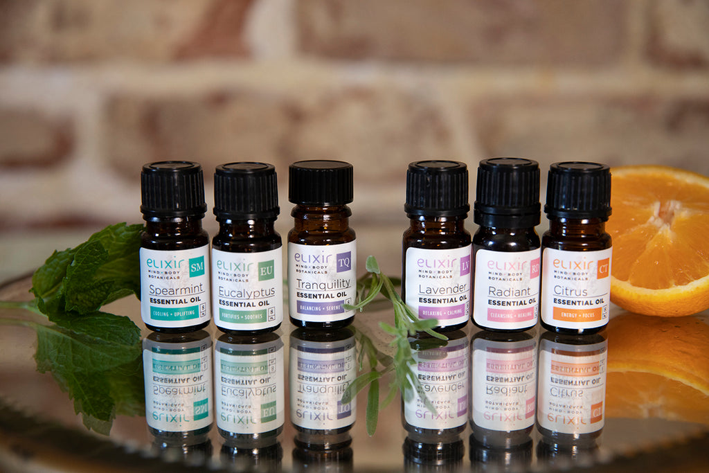 Elixir Mind Body Botanicals Essential Oils
