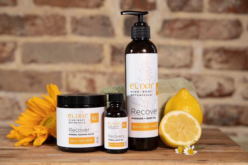 Elixir Mind Body Botanicals Recover Bundle