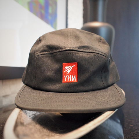 RWY23 - YHM Airport Code 5-Panel Unstructured Cap Example Photo