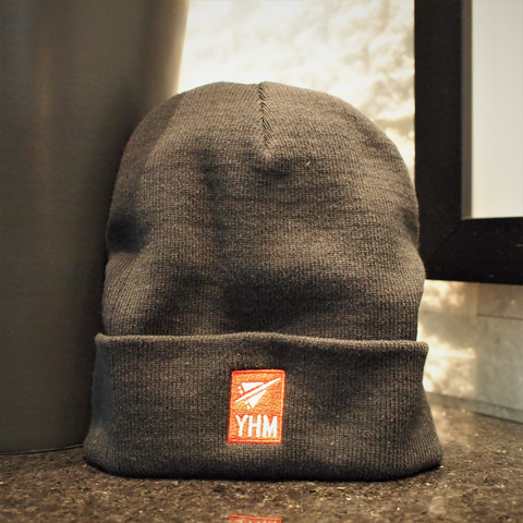 RWY23 - YHM Airport Code Beanie Example Photo