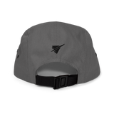 RWY23 - BOS Boston Airport Code Camper Hat - City-Themed Merchandise - Retro Jetliner Design - Image 11