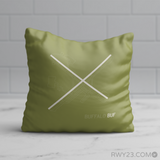 RWY23 - BUF Buffalo Throw Pillow - Airport Runway Diagram Design - Birthday Gift Christmas Gift