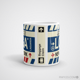 RWY23 - LGA New York, New York Airport Code Coffee Mug - Teacher Gift, Airbnb Decor - Side