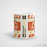 RWY23 - OGG Maui, Hawaii Airport Code Coffee Mug - Teacher Gift, Airbnb Decor - Side