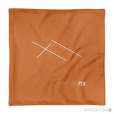 RWY23 - PDX Portland Airport Runway Diagram Design Throw Pillow - Aviation Gift Travel Gift