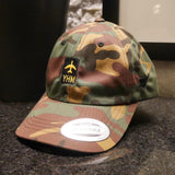 RWY23 Airport Code Baseball Cap Product Photo 05