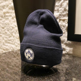 RWY23 - Airport Code Winter Hat - Vintage Roundel Design 2