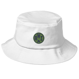 RWY23 - BWI Baltimore-Washington Airport Code Bucket Hat - City-Themed Merchandise - Roundel Design with Vintage Airplane - Image 6