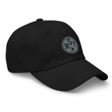 RWY23 - MSY New Orleans Airport Code Dad Hat - City-Themed Merchandise - Roundel Design with Vintage Airplane - Image 6