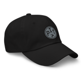 RWY23 - PHX Phoenix Airport Code Dad Hat - City-Themed Merchandise - Roundel Design with Vintage Airplane - Image 6