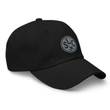 RWY23 - SLC Salt Lake City Airport Code Dad Hat - City-Themed Merchandise - Roundel Design with Vintage Airplane - Image 6