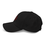 RWY23 - AUS Austin Airport Code Dad Hat - City-Themed Merchandise - Roundel Design with Vintage Airplane - Image 8