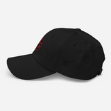 RWY23 - OGG Maui Airport Code Dad Hat - City-Themed Merchandise - Roundel Design with Vintage Airplane - Image 8