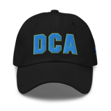 RWY23 - DCA Washington Airport Code Dad Hat - City-Themed Merchandise - Bold Collegiate Style - Image 6