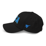 RWY23 - DCA Washington Airport Code Dad Hat - City-Themed Merchandise - Bold Collegiate Style - Image 9