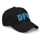 RWY23 - DFW Dallas-Fort Worth Airport Code Dad Hat - City-Themed Merchandise - Bold Collegiate Style - Image 6