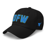 RWY23 - DFW Dallas-Fort Worth Airport Code Dad Hat - City-Themed Merchandise - Bold Collegiate Style - Image 7