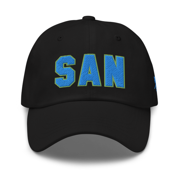RWY23 - SAN San Diego Airport Code Dad Hat - City-Themed Merchandise - Bold Collegiate Style - Image 6