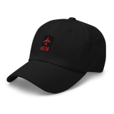 RWY23 - MEM Memphis Airport Code Dad Hat - City-Themed Merchandise - Retro Jetliner Design - Image 7
