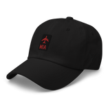 RWY23 - MIA Miami Airport Code Dad Hat - City-Themed Merchandise - Retro Jetliner Design - Image 7
