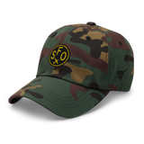 RWY23 - SFO San Francisco Airport Code Dad Hat - City-Themed Merchandise - Roundel Design with Vintage Airplane - Image 11