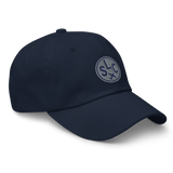 RWY23 - SLC Salt Lake City Airport Code Dad Hat - City-Themed Merchandise - Roundel Design with Vintage Airplane - Image 10