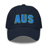 RWY23 - AUS Austin Airport Code Dad Hat - City-Themed Merchandise - Bold Collegiate Style - Image 1