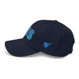 RWY23 - AUS Austin Airport Code Dad Hat - City-Themed Merchandise - Bold Collegiate Style - Image 12