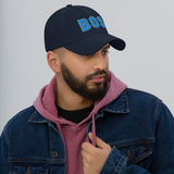 RWY23 - BOS Boston Airport Code Dad Hat - City-Themed Merchandise - Bold Collegiate Style - Image 3