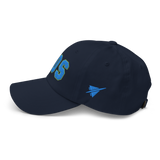RWY23 - BOS Boston Airport Code Dad Hat - City-Themed Merchandise - Bold Collegiate Style - Image 12