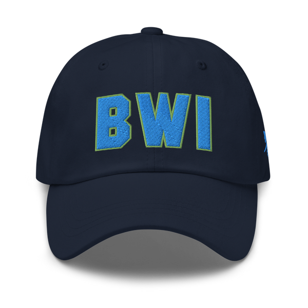 RWY23 - BWI Baltimore-Washington Airport Code Dad Hat - City-Themed Merchandise - Bold Collegiate Style - Image 1
