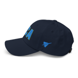 RWY23 - DCA Washington Airport Code Dad Hat - City-Themed Merchandise - Bold Collegiate Style - Image 12