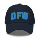 RWY23 - DFW Dallas-Fort Worth Airport Code Dad Hat - City-Themed Merchandise - Bold Collegiate Style - Image 9