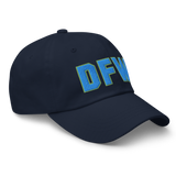 RWY23 - DFW Dallas-Fort Worth Airport Code Dad Hat - City-Themed Merchandise - Bold Collegiate Style - Image 10