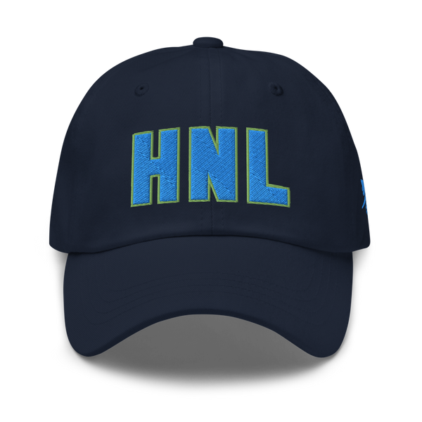 RWY23 - HNL Honolulu Airport Code Dad Hat - City-Themed Merchandise - Bold Collegiate Style - Image 1