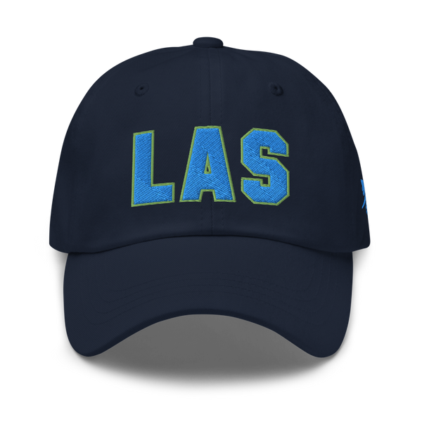 RWY23 - LAS Las Vegas Airport Code Dad Hat - City-Themed Merchandise - Bold Collegiate Style - Image 1