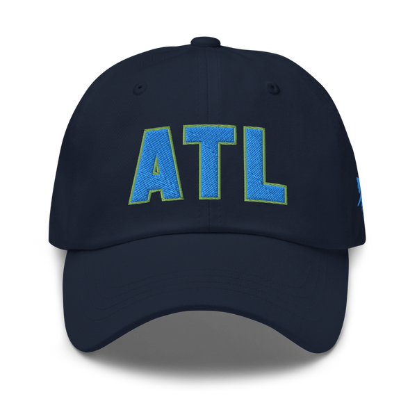 RWY23 - ATL Atlanta Airport Code Dad Hat - City-Themed Merchandise - Bold Collegiate Style - Image 1
