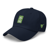 RWY23 - BWI Baltimore-Washington Airport Code Dad Hat - City-Themed Merchandise - Retro Jetliner Design - Image 11
