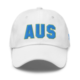 RWY23 - AUS Austin Airport Code Dad Hat - City-Themed Merchandise - Bold Collegiate Style - Image 13