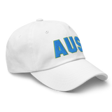 RWY23 - AUS Austin Airport Code Dad Hat - City-Themed Merchandise - Bold Collegiate Style - Image 14