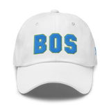 RWY23 - BOS Boston Airport Code Dad Hat - City-Themed Merchandise - Bold Collegiate Style - Image 13