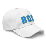RWY23 - BOS Boston Airport Code Dad Hat - City-Themed Merchandise - Bold Collegiate Style - Image 14