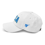RWY23 - DCA Washington Airport Code Dad Hat - City-Themed Merchandise - Bold Collegiate Style - Image 16