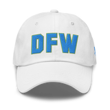 RWY23 - DFW Dallas-Fort Worth Airport Code Dad Hat - City-Themed Merchandise - Bold Collegiate Style - Image 13