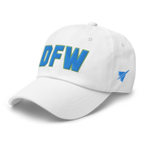 RWY23 - DFW Dallas-Fort Worth Airport Code Dad Hat - City-Themed Merchandise - Bold Collegiate Style - Image 15